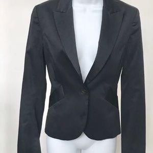 Theory Nana/Condition Navy Striped Blazer Size 6